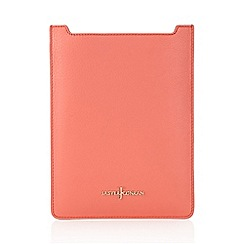 J by Jasper Conran - Designer coral leather iPad cover