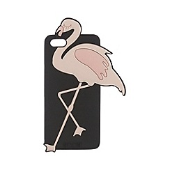 Floozie by Frost French - Black flamingo iPhone case