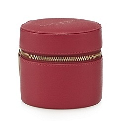Bailey & Quinn - Dark pink jewellery case