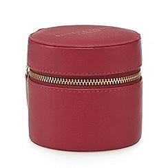 Bailey & Quinn - Dark pink jewellery case