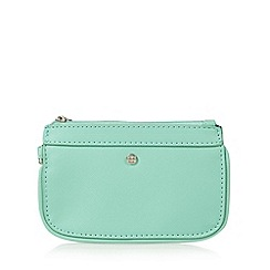 The Collection - Light green small wristlet bag
