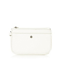 The Collection - White small wristlet bag