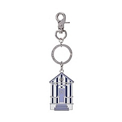 Bailey & Quinn - Metal beach hut keyring
