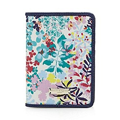 Bailey & Quinn - Navy floral passport holder