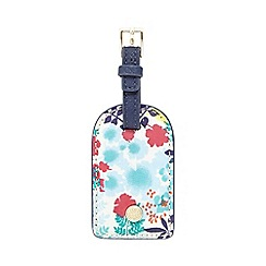 Bailey & Quinn - Navy floral luggage tag