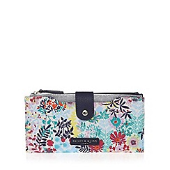 Bailey & Quinn - Navy floral print large purse
