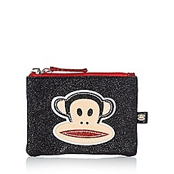 Paul Frank - Black glitter monkey coin purse