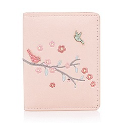 The Collection - Pink bird on branch card holder