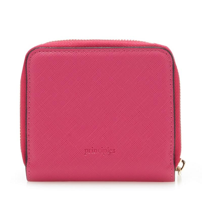 Principles Bright Pink Small Zip Around Purse - One Size - Purses (9027707 5045480467146) photo