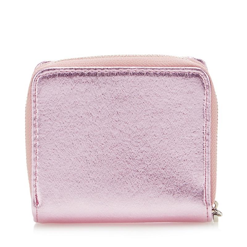 Faith Light Pink Zip Around Purse - One Size - Purses (9027607 5045480466149) photo