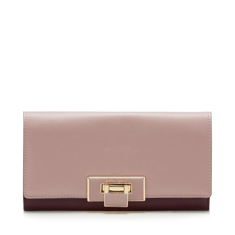 Principles Pink Colour Block Large Purse - One Size - Purses (9107609 5045481268476) photo