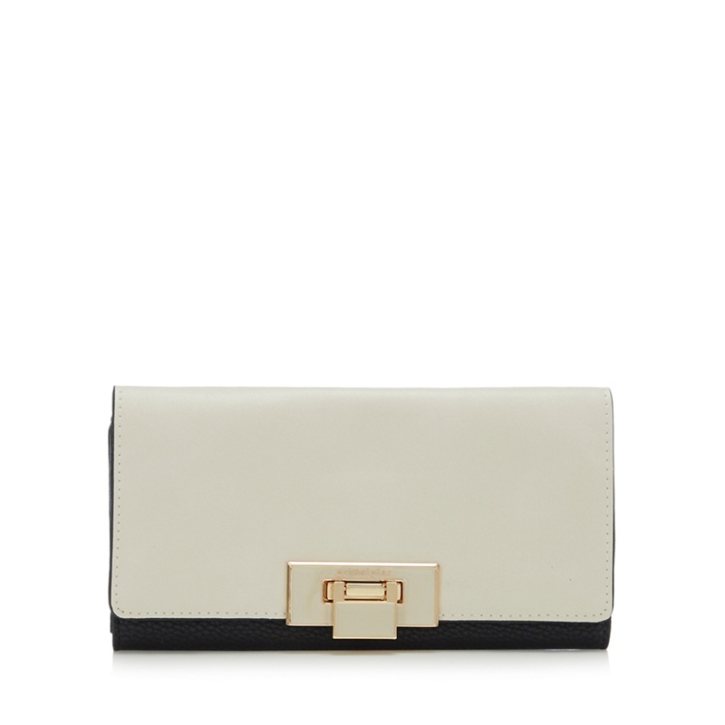 Principles Cream Colour Block Large Purse - One Size - Purses (9028338 5045480473451) photo