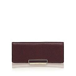 J by Jasper Conran - Purple enamel logo large purse
