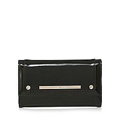 J by Jasper Conran - Dark green patent medium purse