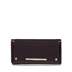 J by Jasper Conran - Purple patent large purse