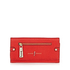 J by Jasper Conran - Red zip front large purse