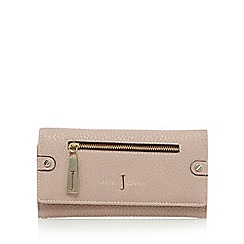 J by Jasper Conran - Designer pale pink zip flapover purse