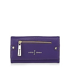 J by Jasper Conran - Purple zip front large purse