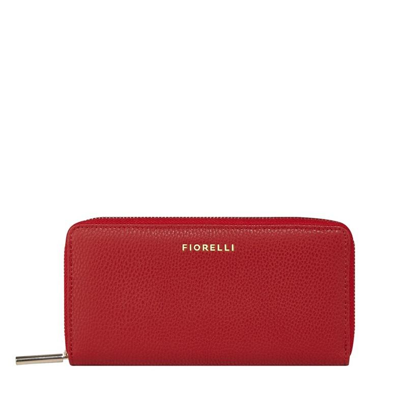 Fiorelli Red 'City' Zip Around Purse - One Size - Purses (9082270 FWS0178Ruby) photo