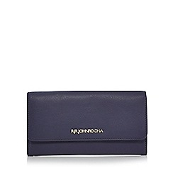RJR.John Rocha - Navy leather flap over purse