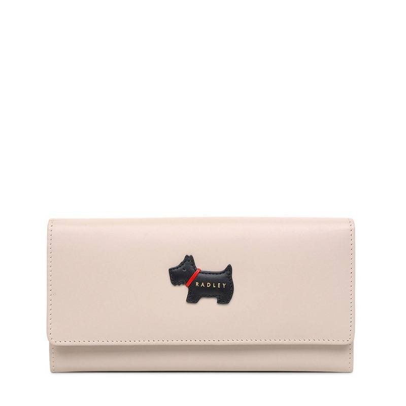 Pink Leather 'Heritage Radley' Large Flapover Matinee Purse - One Size - Purses (9086849 16705) photo