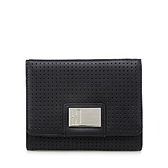 Betty Jackson.Black - Designer black perforated purse