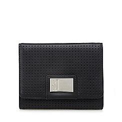 Betty Jackson.Black - Designer black perforated purse