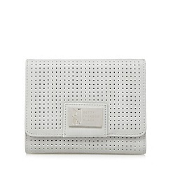 Betty Jackson.Black - Designer grey perforated purse