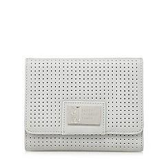 Betty Jackson.Black - Designer grey perforated purse