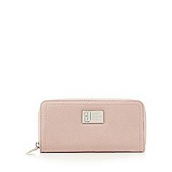Betty Jackson.Black - Designer pink grained large purse