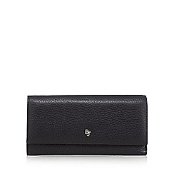 Betty Jackson.Black - Designer black leather fold over purse