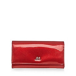 Star by Julien Macdonald - Red patent glitter purse
