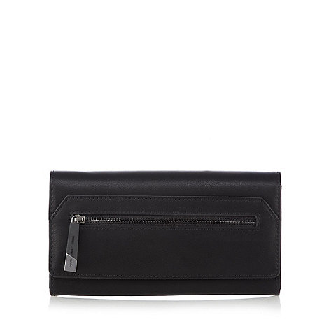 todd-lynn-edition - Black zip front flap over purse