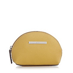 Principles by Ben de Lisi - Designer yellow dome coin purse