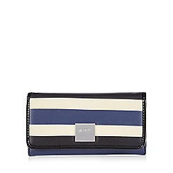 Principles by Ben de Lisi - Blue broad striped purse