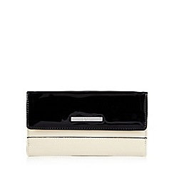 Principles by Ben de Lisi - Cream patent detail purse