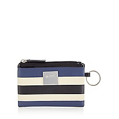 Principles by Ben de Lisi - Blue broad striped coin purse