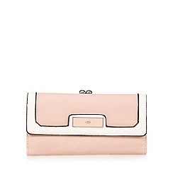 The Collection - Pink colour block large purse