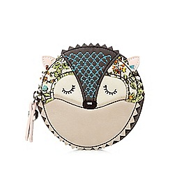 Mantaray - Brown round hedgehog coin purse