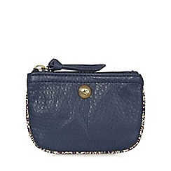 Mantaray - Navy washed coin purse