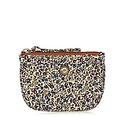 Mantaray - Cream ditsy floral coin purse