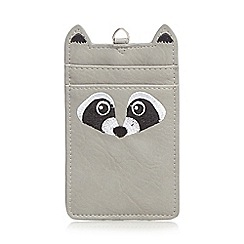 Mantaray - Grey racoon card holder