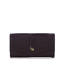 Mantaray - Plum hare stud large purse