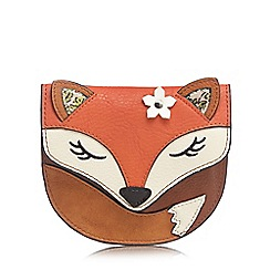 Mantaray - Tan fox coin purse