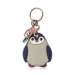 Mantaray - Turquoise penguin keyring