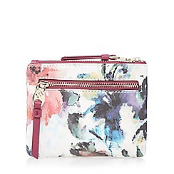 Bailey & Quinn - Dark pink floral coin purse
