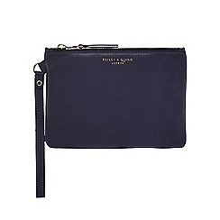 Bailey & Quinn - Navy leather large coin purse