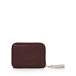 Bailey & Quinn - Dark red leather small purse