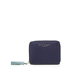 Bailey & Quinn - Navy leather small purse