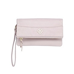 Bailey & Quinn - Lilac zip flap over large leather purse